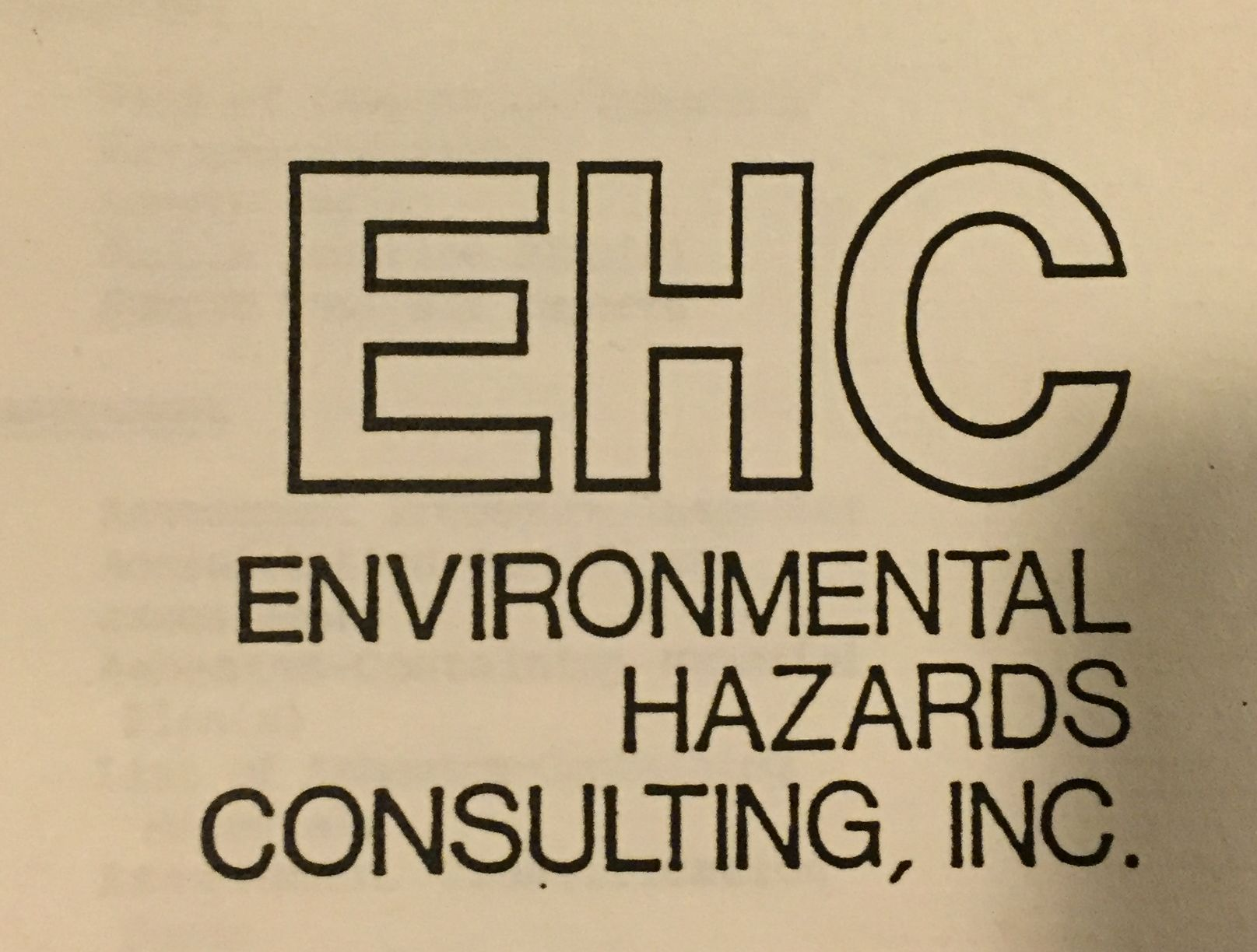 EHC Logo 1991 to 1998