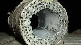 asbestos remediation company fixes aircell pipe insulation problem