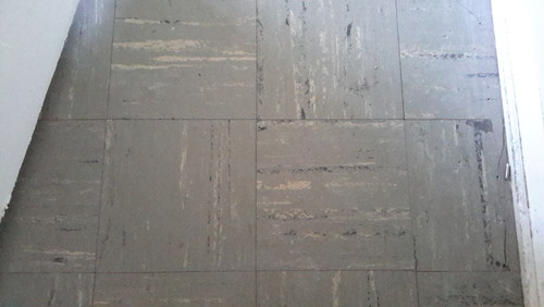 asbestos abatement on floor tiles