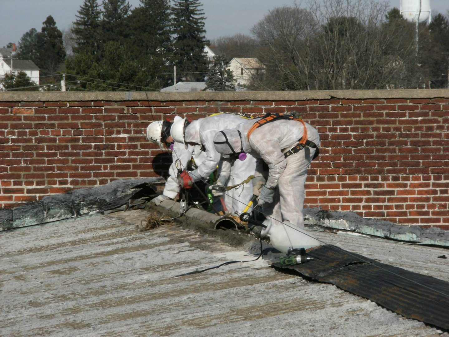 performing environmental remediation services