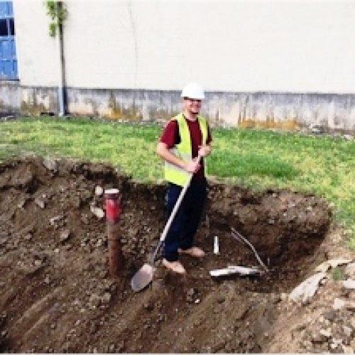 installing storage tanks underground