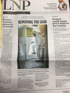 Featured in Lancaster News Papers