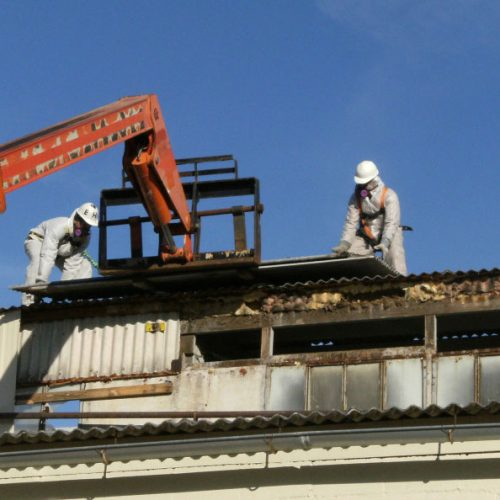 rooftop abatement project