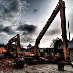 demolition company equipment